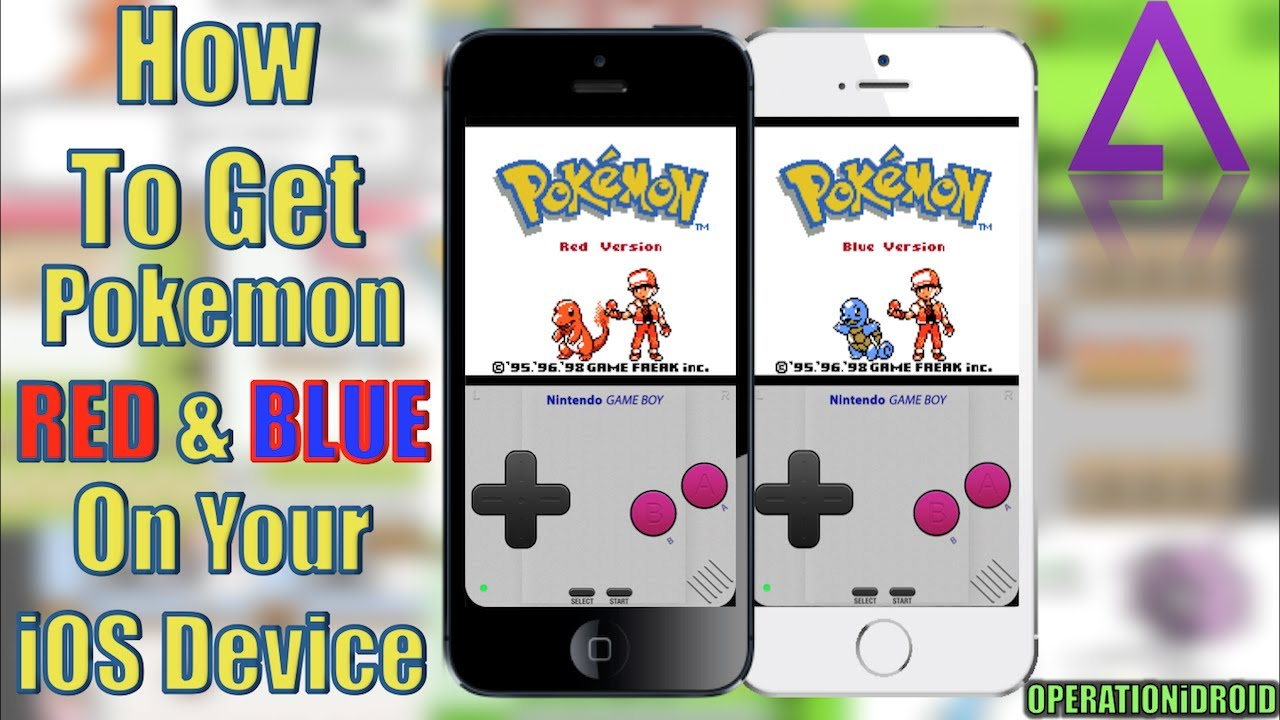 Gameboy color palettes - Gba4ios 2 0 How To Get Pokemon Red Blue In Color No Computer No Jailbreak Youtube