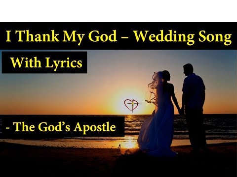 I Thank My God Each Time - Hymns With Lyrics