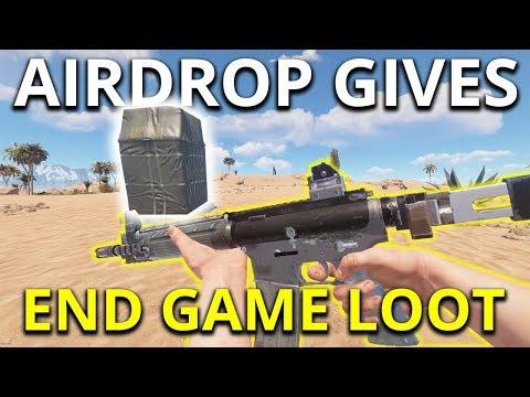 AIRDROP GIVES END GAME LOOT! - Rust Solo Survival Gameplay SE1 EP9 thumbnail