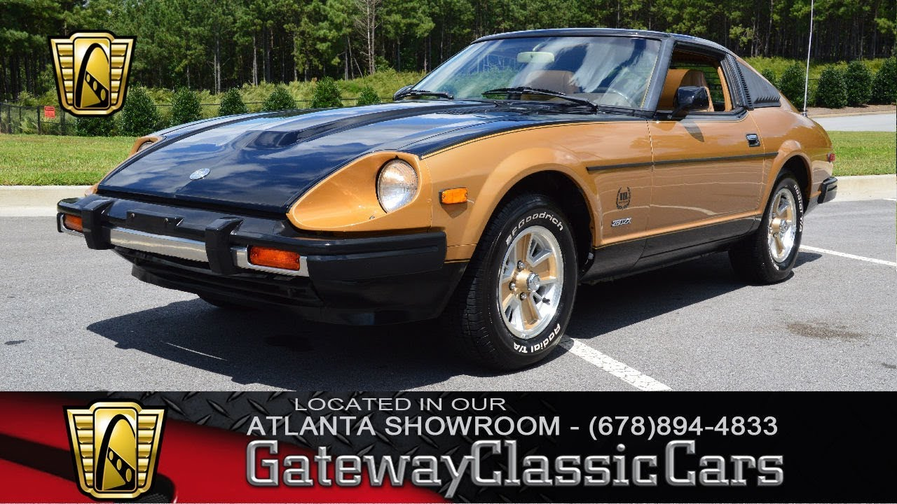1980 Datsun 280zx Gateway Classic Cars Of Atlanta Stock 875 Atl Youtube