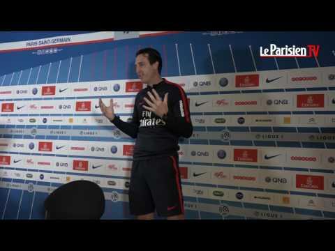 Unai Emery explique le foot aux lecteurs du Parisien... avec des mimes
