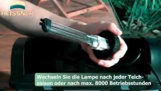 Фильтр для пруда, замена УФ-лампы(, 2014-05-30T19:01:31.000Z)