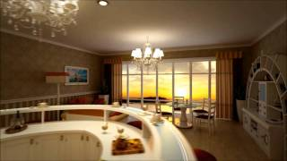 BOLINA kitchen - 3D rendering