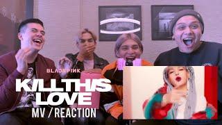 """DEVOUR CHILE - MV REACTION - BLACKPINK """"KILL THIS LOVE""""    Tributo masculino reacciona a Blackpink MP3"""