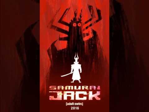 Samurai Jack- Trailer 2017 Song-Carpenter Brut-Division Ruine