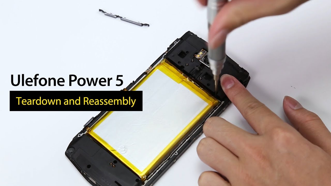 13000mAh Ulefone Power 5 Teardown and Reassembly