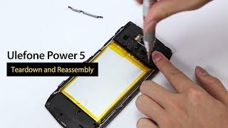 13000mAh Ulefone Power 5 Teardown and Reassembly