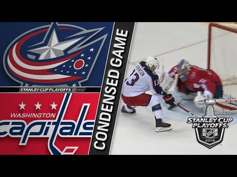 04/15/18 First Round, Gm2: Blue Jackets @ Capitals