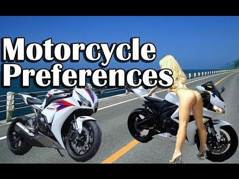 motorcycle preferences choosing the best motorcycle for you youtube