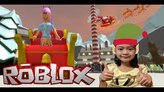 Let's help Santa! - Roblox North Pole Simulator 🎅🎁🎄❄