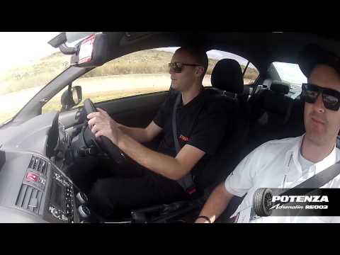 Jonathan Webb Track Tests The Bridgestone Potenza RE003