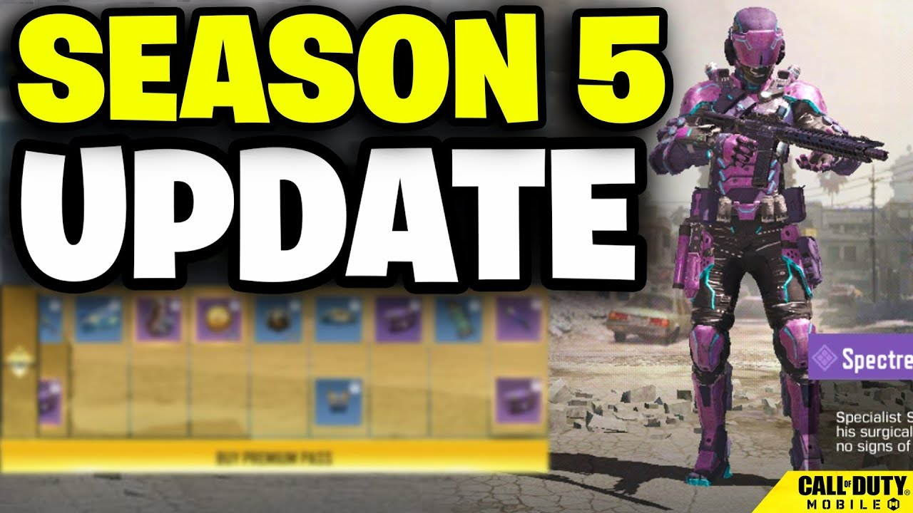 Season 5 Update In Call Of Duty Mobile Huge Changes Youtube