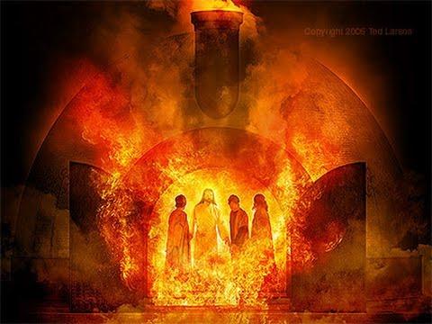 Daniel 3 friends fire -Miracle in Bible