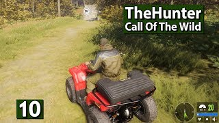 Hunter Call of The Wild #10 ► MOTORSPORT im WALD ► ATV DLC