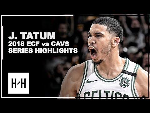 Jayson Tatum Full Series Highlights vs Cavaliers | 2018 Playoffs East Finals