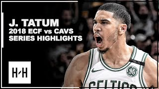 Jayson Tatum Full Series Highlights vs Cavaliers | 2018 Playoffs East Finals
