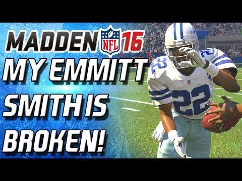 MY EMMITT SMITH IS BROKEN!!!!! Madden 16 Ultimate Team