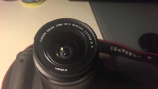 Canon 650Dобзор на мой фотоаппарат(Приятного просмотра, советую включать звук потише, очень громкий звук. Новое видео с моими контактами скоро..., 2016-02-27T16:33:29.000Z)