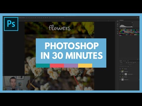 Learn Adobe Photoshop in 30 Minutes