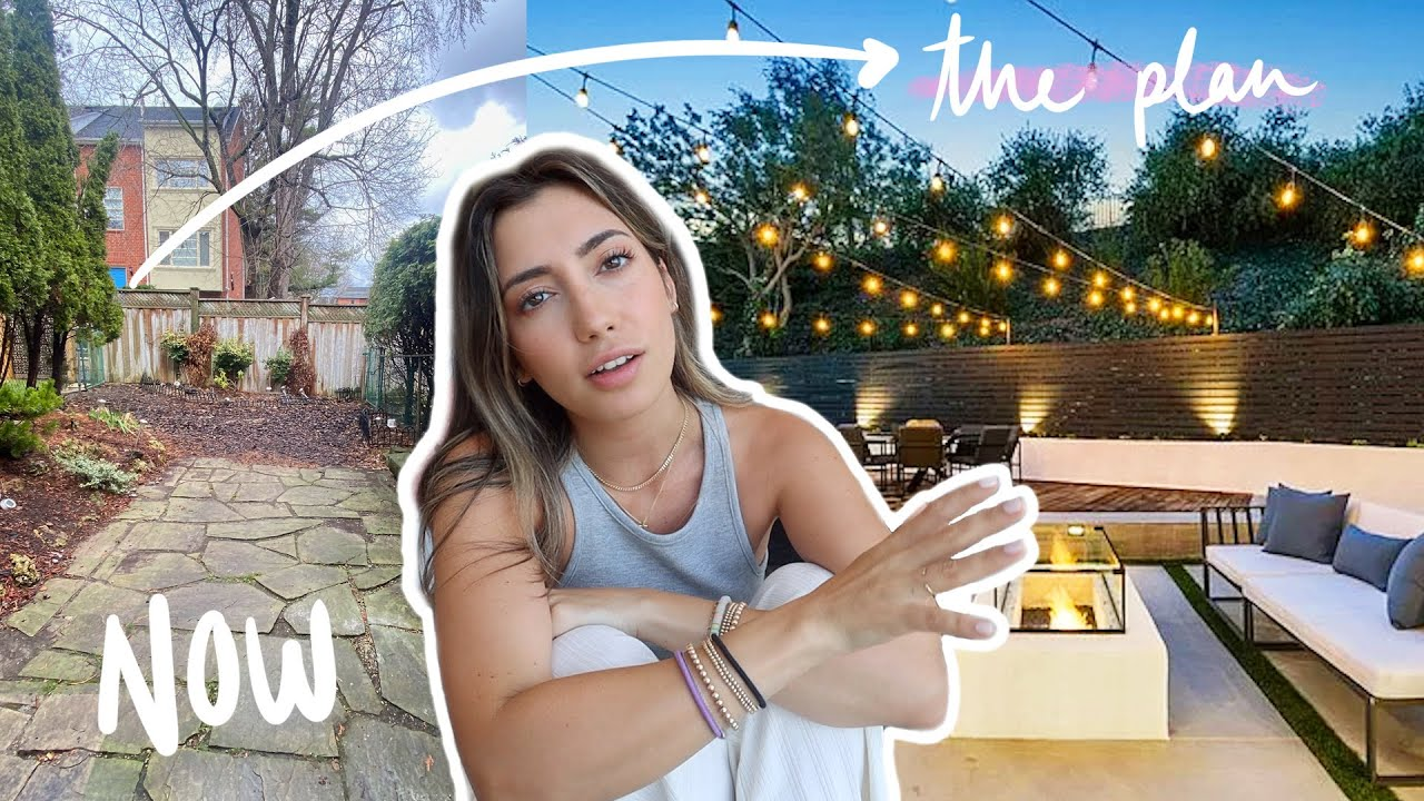 Everything about my BACKYARD MAKEOVER plans (for after I move in!)