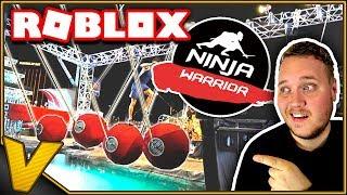 NINJA GUERREIRO UDFORDRINGEN! :::: Ninja Warrior Roblox Dansk