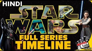 STAR WARS : Full Series Timeline [Explained In Hindi]