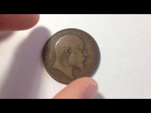 1907 Great Britain One Penny