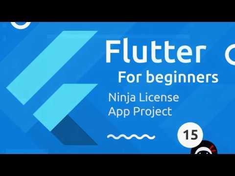 Flutter Tutorial for Beginners #15 - Ninja ID Project