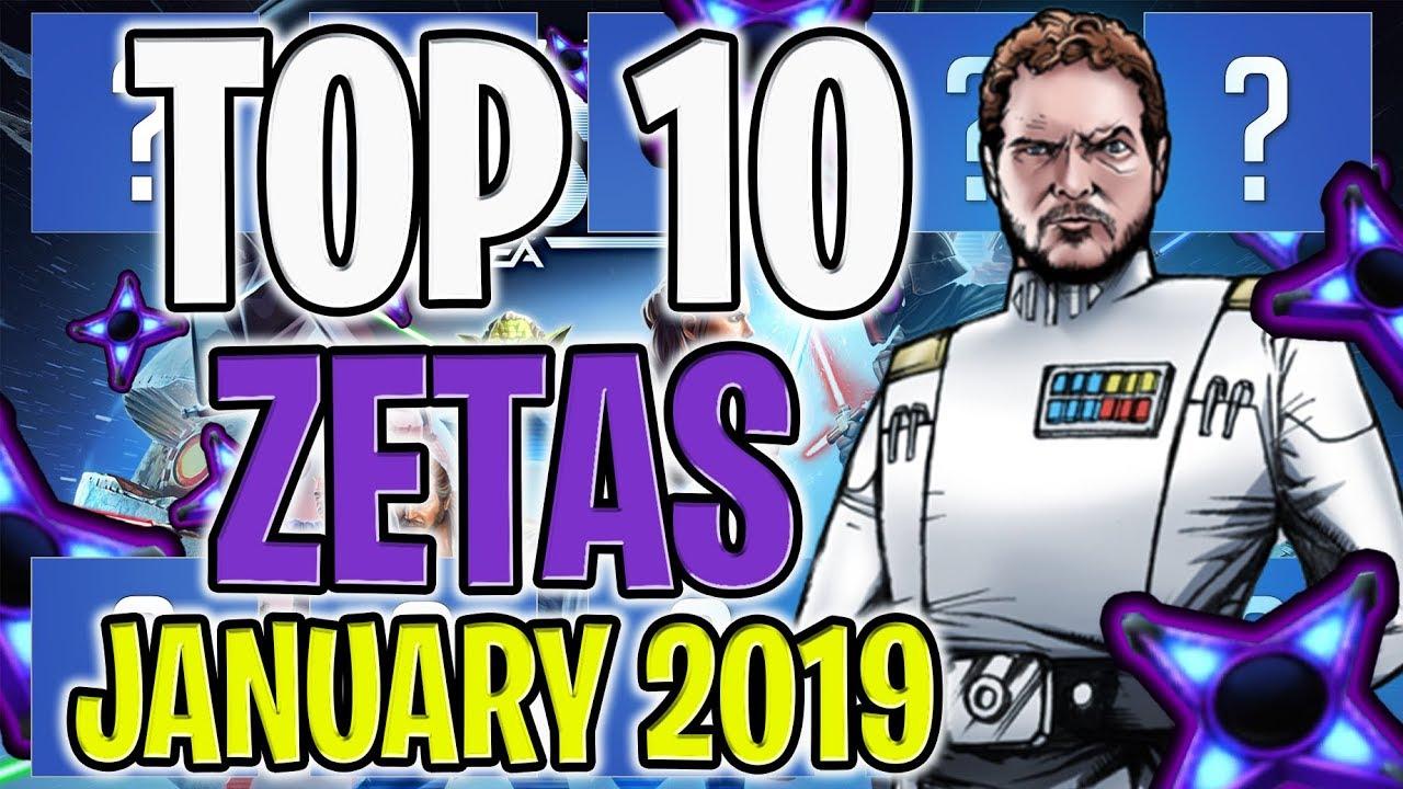 Swgoh Best Zetas May 2019 Top 10 Zetas   January 2019! Best Zetas to Start the New Year