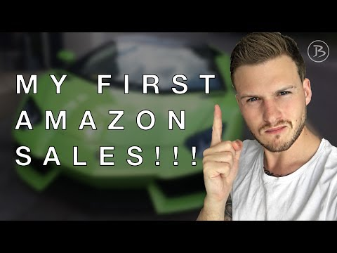 MY FIRST AMAZON SALES!!! Tanner J Fox Amazon Seller Mastery Course Review / Affiliate UPDATE