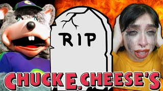 Rest in Peace, Chuck E. Cheese? Closing forever?? The Decline of Chuck E. Cheese's, What Happened???