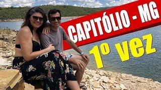 Capitólio-MG Passeio maravilhoso com nossos amigos Carla e Evandro
