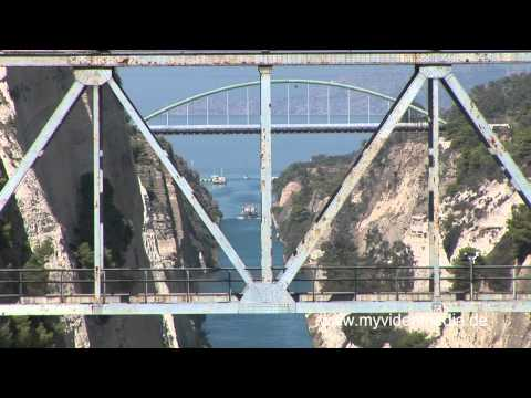 Corinth Canal- Greece HD Travel Channel