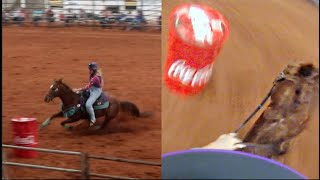 RODEO FROM MY PERSPECTIVE! (WARM UP PEN, MY RUN, MEETING FANS)