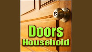 Door, Wood - Light Wood Entrance Door: Close And Lock, Wood Doors & Gates, Deadbolt Locks