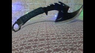 как сделать топор Z - HUNTER Чёрный Металик из дерева