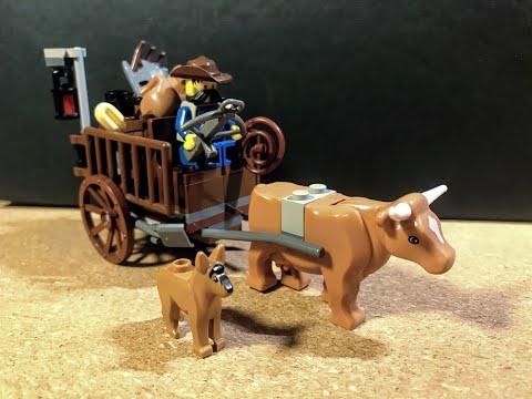 Hejo, spann' den Wagen an! | Mein mittelalterliches Leiterwagen-MOC