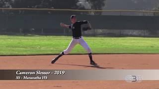 Cameron Slessor - SS - Maranatha HS - 2019