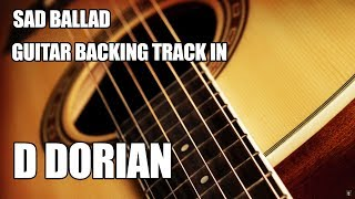 Sad Ballad Guitar Backing Track In D Dorian