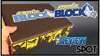 Subscription Spot | Comic Block March 2017 Subscription Box UNBOXING!