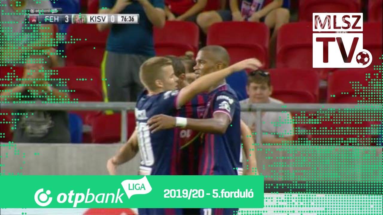 Hodzic Armin gólja a MOL Fehérvár FC – Kisvárda Master ...