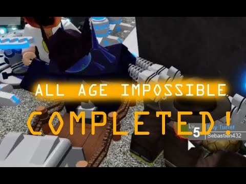 All Age Impossible Completed Evolution Evade Youtube