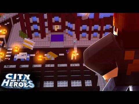 Minecraft Animation: SÉRIE NOVA - Cidade de Heróis ‹ Ine ›