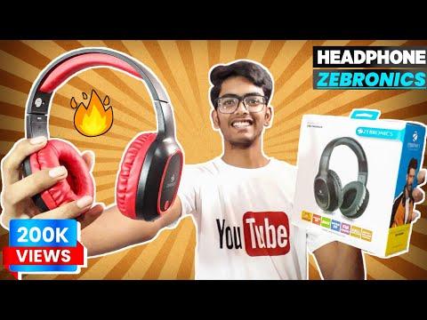 Zebronics Zeb Thunder Bluetooth Headphone, Best Budget Headphone 2020 || Unboxing & Review.