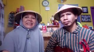 Duet maut!| Ditinggal Rabi | Cover by Memedi Sawah Collabs Mba Bojo| #viral #ukulele #dirumahaja
