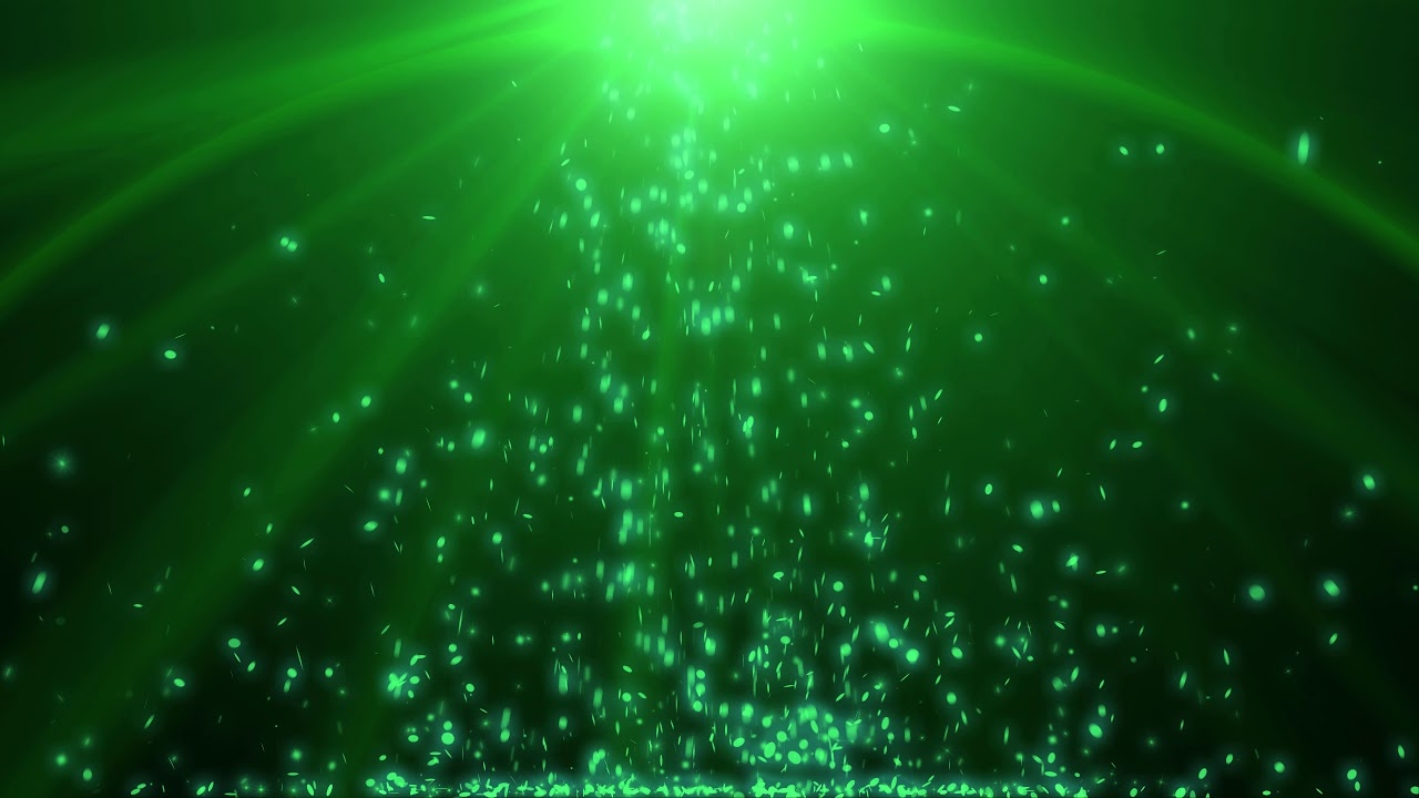 4k Green Moving Background Falling Shiny Coins Aavfx Free Live Wallpaper