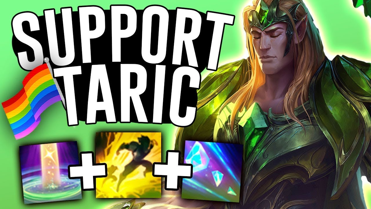 TARIC IS THE BEST SUPPORT RIGHT NOW! - League of Pride ...