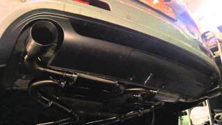 Audi Q7 3.0 T, custom exhaust by Etun