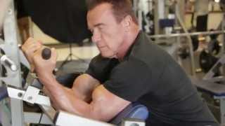 Arnold Schwarzenegger - NEW Training Video (Part 2) | OCTOBER 2013 | Muscle & Fitness [HD]
