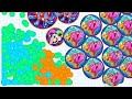 DESTROYING SAVAGE CLANS - AGAR.IO MOBILE